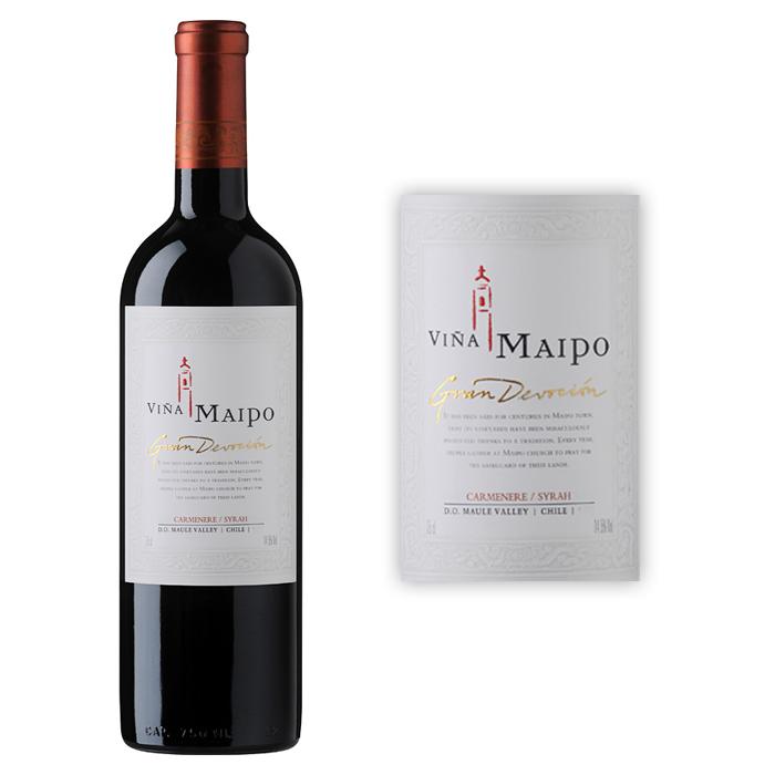 迈坡酒庄 迈坡精品奉献系列佳美娜—西拉干红葡萄酒2010年