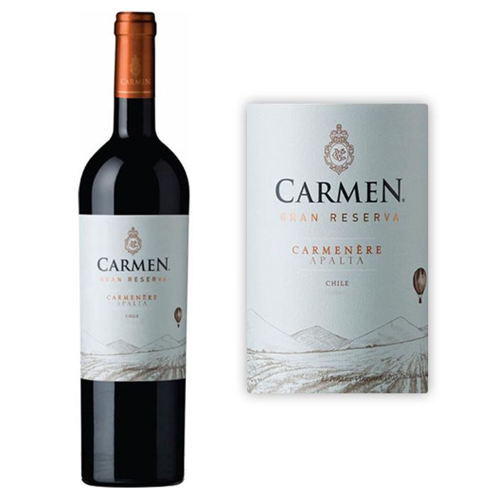 卡门酒庄 卡门特藏佳美娜干红葡萄酒2010年