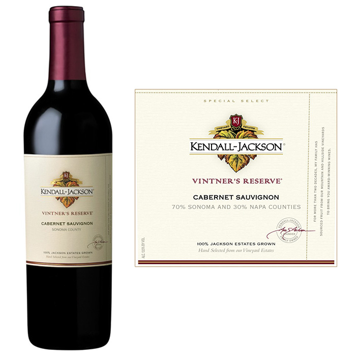 肯德•杰克逊酒庄 肯德·杰克逊酿酒师珍藏赤霞珠干红葡萄酒2007年