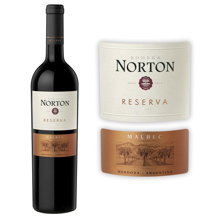 诺顿酒庄 诺顿珍藏马贝克干红葡萄酒2008年