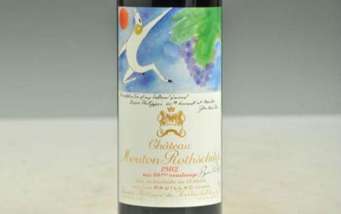 木桐1982年葡萄酒的评价怎么样?
