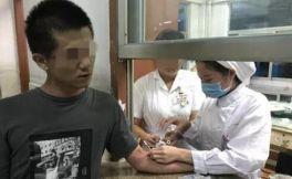 漳州某男子酒后开共享汽车,被当地警方拘留