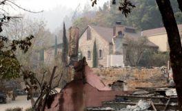 经历加州森林大火后,纳帕谷Mayacamas酒庄的2017年份酒有可能毁于一旦