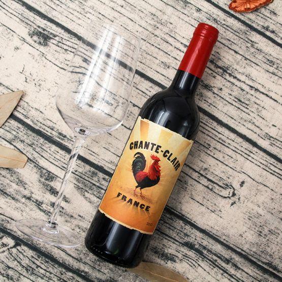法国高卢雄鸡红葡萄酒 2015