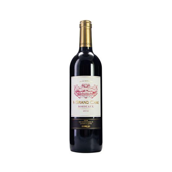 勒柴金庄园波尔多红葡萄酒2014