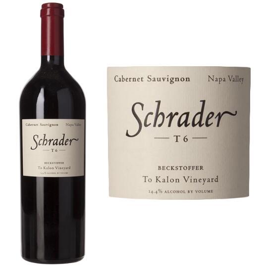 施拉德酒庄 施拉德T6贝克斯多夫至凯伦赤霞珠干红葡萄酒2008年
