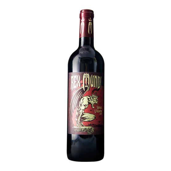法国雷克斯蒙地西拉歌海娜红葡萄酒