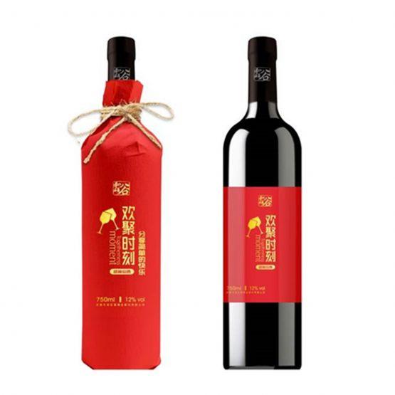 欢聚时刻甜红葡萄酒