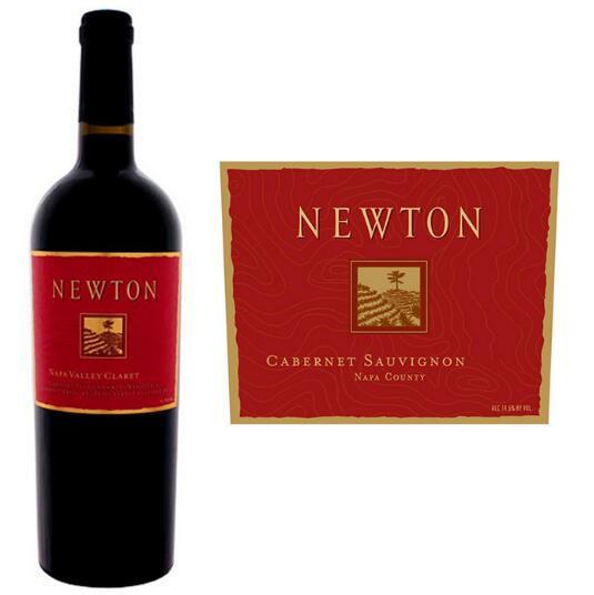 纽顿酒庄 纽顿红牌赤霞珠干红葡萄酒2008年