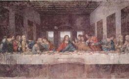 达芬奇名作《最后的晚餐》中,耶稣喝的到底是什么酒?