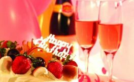 生日蛋糕配红酒,让你的生日不一般!