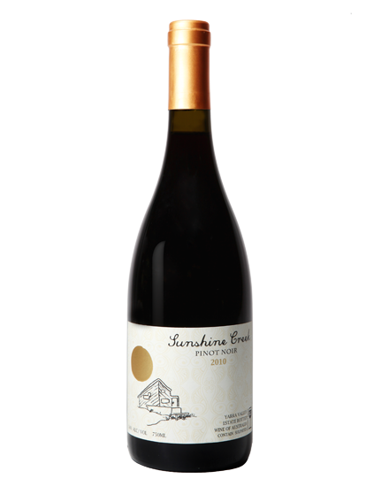 阳光酒庄庄园系列黑比诺红葡萄酒2010