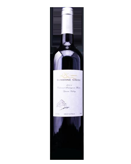 阳光酒庄庄园系列赤霞珠美乐干红葡萄酒2011