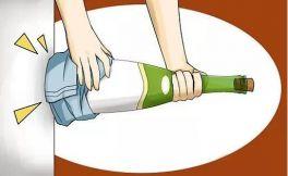 没有开瓶器如何开红酒?五招闪瞎眼