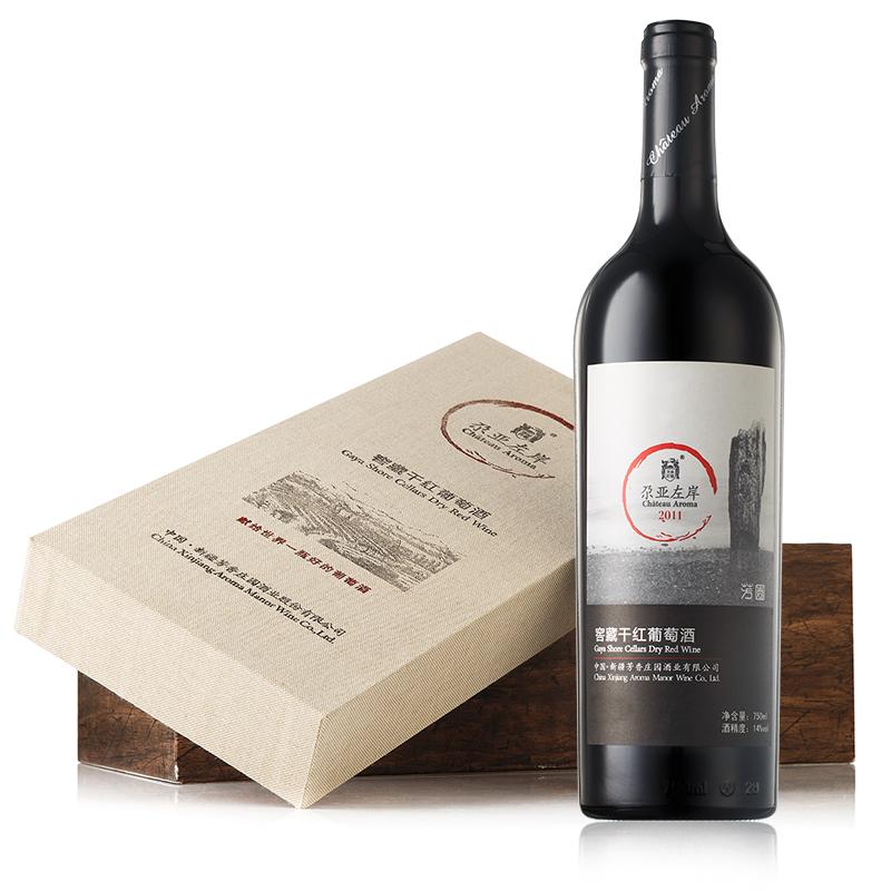 尕亚左岸窖藏干红葡萄酒