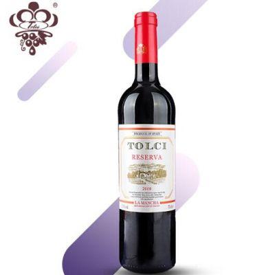 图思(TOLCI)西班牙原瓶进口DO级 经典陈酿干红葡萄酒