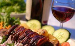 红葡萄酒配烤肉真的那么好吃吗?
