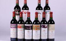 木桐红酒不同年份品鉴记录