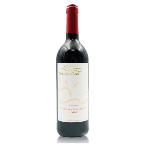 SUNSHINECREEK 澳洲原瓶进口红酒 雅拉谷精选系列 赤霞珠干红葡萄酒2016
