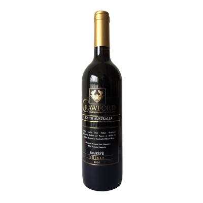 澳大利亞南澳古口一百號酒莊西拉精選干紅葡萄酒