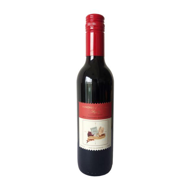 澳大利亞庫納瓦拉古口一百號酒莊赤霞珠干紅葡萄酒375ml
