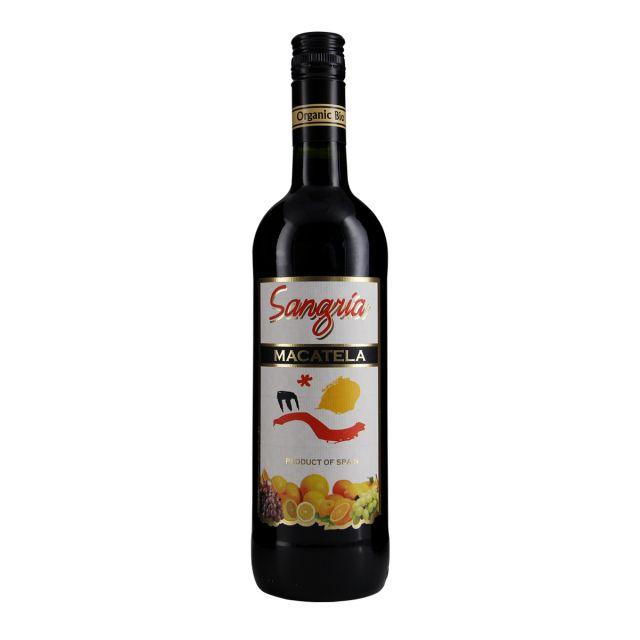 西班牙拉曼恰德尔加多兄弟酒庄桑格利亚有机果酒