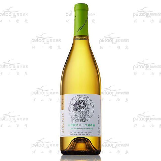 尕亚霞多丽干白葡萄酒