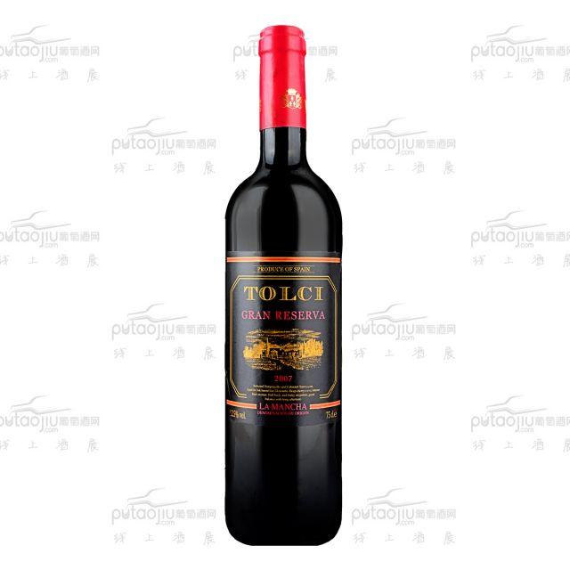 图思(TOLCI)西班牙原瓶进口DO级 珍藏陈酿干红葡萄酒