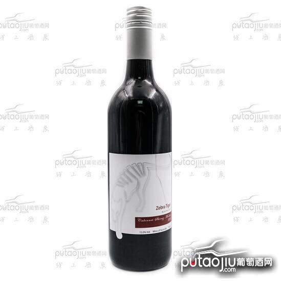 SUNSHINECREEK 澳洲原瓶进口红酒阳光酒庄斑马虎系列赤霞珠西拉美乐混酿干红葡萄酒