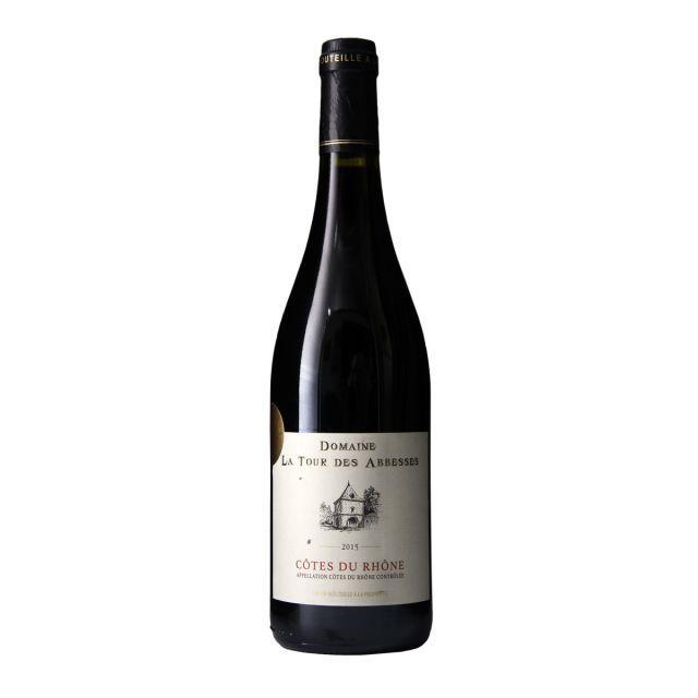 法国罗纳河谷修道院之旅庄园红葡萄酒2015