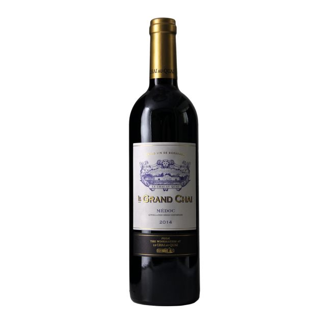 法国波尔多梅多克勒柴金庄园赤霞珠梅洛AOC干红葡萄酒