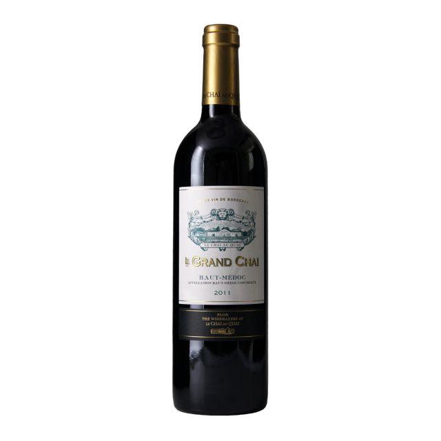 法国波尔多上梅多克勒柴金庄园赤霞珠美乐AOC干红葡萄酒
