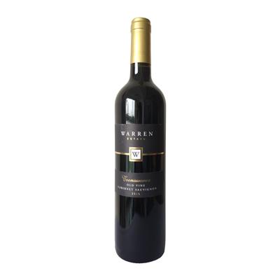 澳大利亞南澳庫納瓦拉古口一百號酒莊赤霞珠老藤干紅葡萄酒