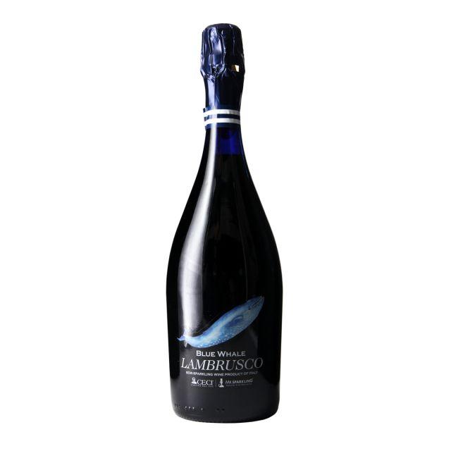 意大利艾米利亚奢侈酒庄蓝鲸PLUS布鲁斯科起泡酒
