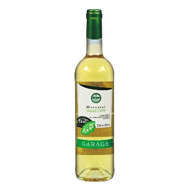 車庫(Garage)西班牙原瓶進口DO級 麝香半干白葡萄酒