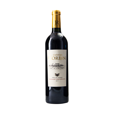 法国波尔多圣艾美隆卡宾城堡美乐老藤AOC干红葡萄酒