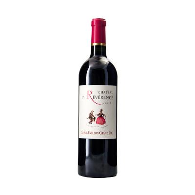 法国波尔多圣艾美隆君舞酒庄品丽珠美乐AOC干红葡萄酒