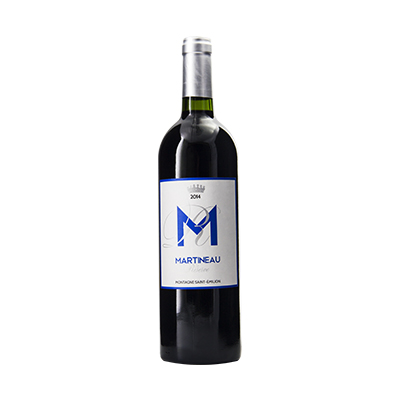 法国波尔多圣艾美隆马丁酒庄混酿AOC干红葡萄酒