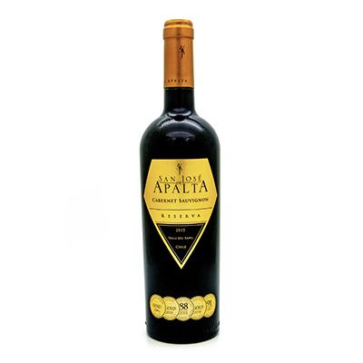 智利拉佩尔谷圣何塞阿帕塔赤霞珠珍藏干红葡萄酒