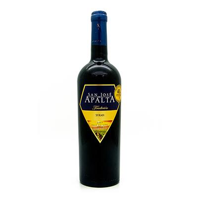 智利拉佩尔谷圣何塞阿帕塔西拉传统精选干红葡萄酒