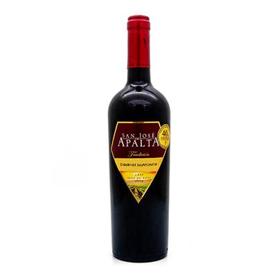 智利拉佩尔谷圣何塞阿帕塔赤霞珠传统精选干红葡萄酒
