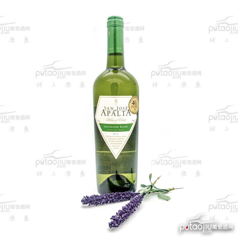 智利拉佩尔谷圣何塞阿帕塔长相思品种级干白葡萄酒