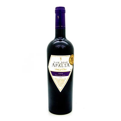圣何塞阿帕塔品种级西拉红葡萄酒
