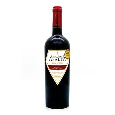 圣何塞阿帕塔品种级梅乐红葡萄酒