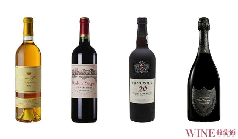 三大色系构造出葡萄酒的众多色彩