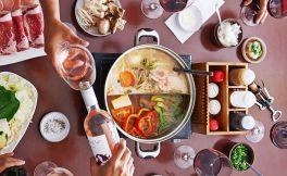冬天吃火锅就要搭配红酒