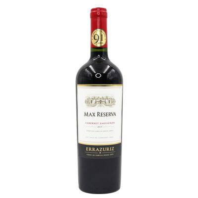 智利阿空加瓜谷伊拉苏酒庄赤霞珠迈克斯珍藏MAX Reserva干红葡萄酒