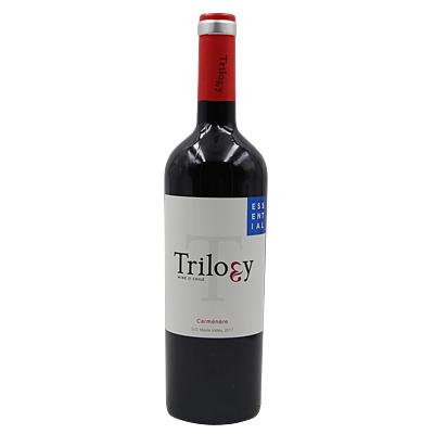 智利马乌莱山谷阿吉雷酒庄三部曲卡蒙干红葡萄酒