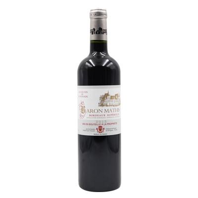 法国波尔多诺让酒庄赤霞珠梅洛AOC干红葡萄酒