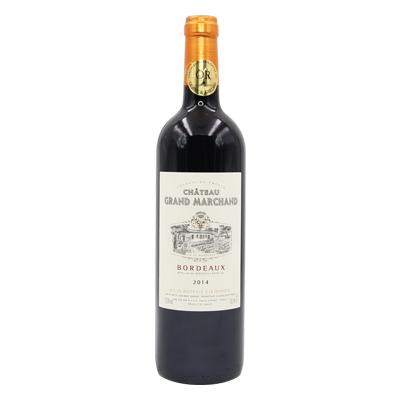 法国波尔多马尔尚古堡混酿优质波尔多AOC干红葡萄酒